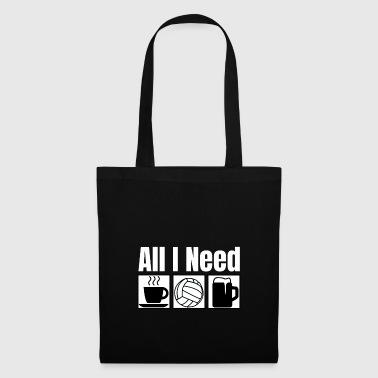All I Need | Water Polo T-Shirt - Tote Bag