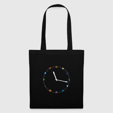 Crypto Clock Time To Make A Choice Digital - Tote Bag