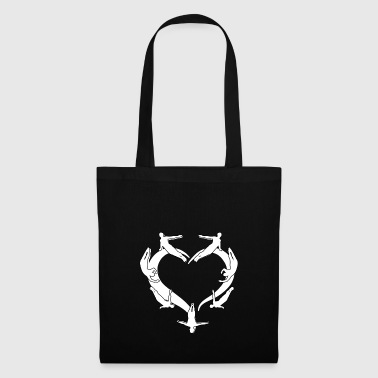 My heart for diving barter gift - Tote Bag