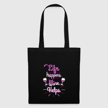 Gift for wine lovers Funny Gift Tshirt - Tote Bag
