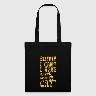Excuse me, I can not talk to my cat Pl - Tote Bag