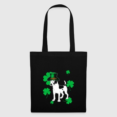 Jack Russell St Patrick Day Gift - Torba materiałowa