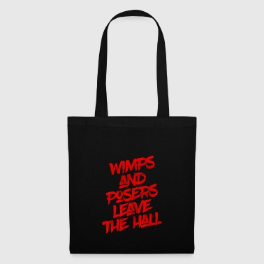** Limited Edition ** Wimps and Posers - Tote Bag