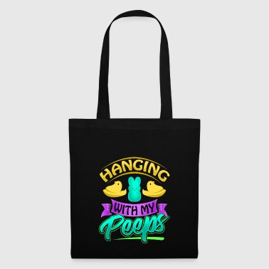 Happy Easter Gift Hanging with my Peeps - Tote Bag