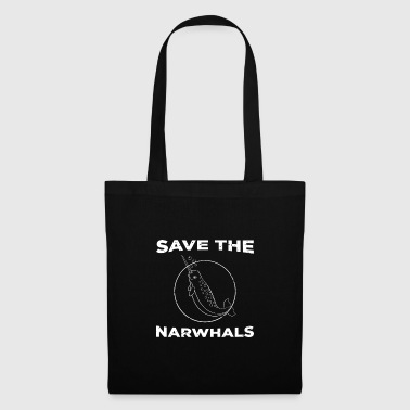 Save the Narwhals Gift - Tote Bag