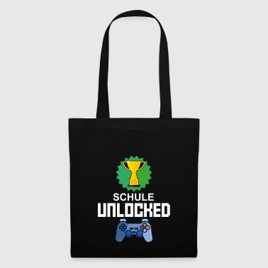 Level Unlocked Back to School Gamer Gaming Gift - Tas van stof