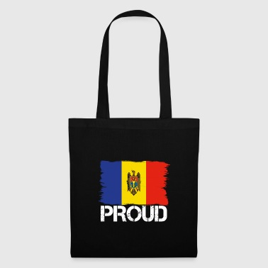 Pride flag flag home origin Moldova png - Tote Bag