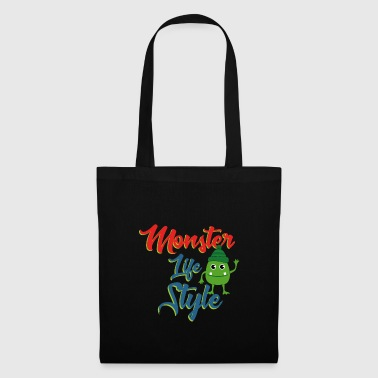 le style Monster - Tote Bag