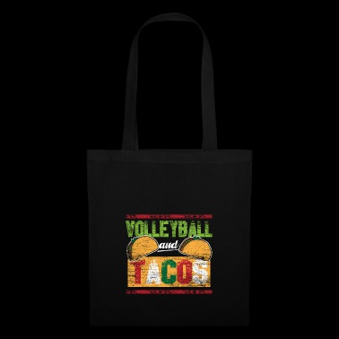 Volleyball and tacos vintage - Tote Bag