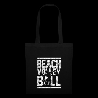 Beach volleyball vintage - Tote Bag