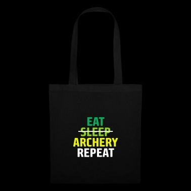 Mangez Sleep Archery Répétez Don Archer - Tote Bag