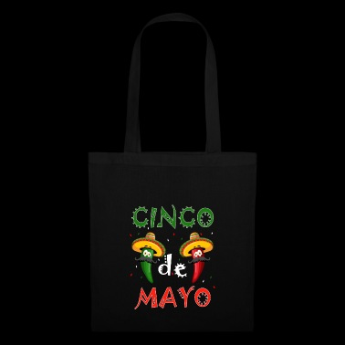 CInco de Mayo Party T-Shirt Cool Funny Fiesta Gift - Stoffbeutel