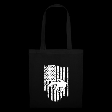 Snowboard USA T-Shirt - Tote Bag