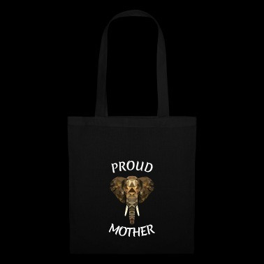 GODET DE MÈRE ELEPHANT MOMMY ANIMAL MUTTI DE LA FÊTE - Tote Bag
