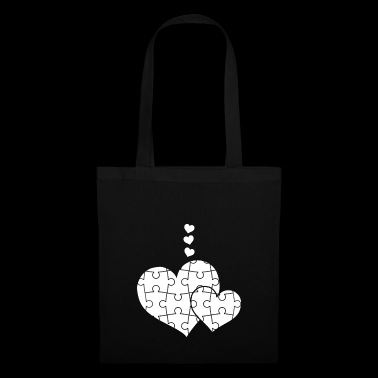 Jigsaw Puzzle - Jigsaw Puzzles - Puzzle - Heart - Tas van stof