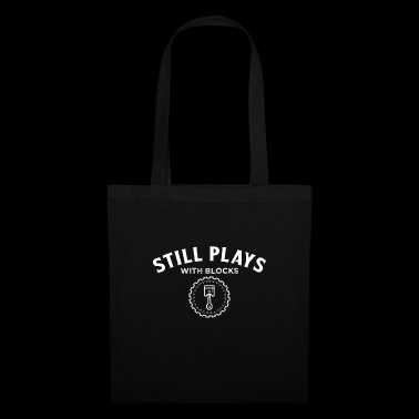 Still Plays With Blocks Car T-Shirt - Tote Bag