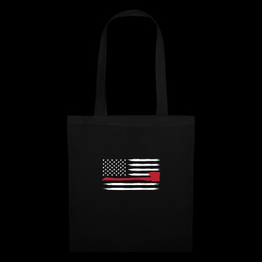 Fire Department - American Firefighter Department Ax - Tote Bag