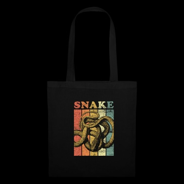 Cadeau animal cadeau serpent Cobra Boa Mamba - Tote Bag