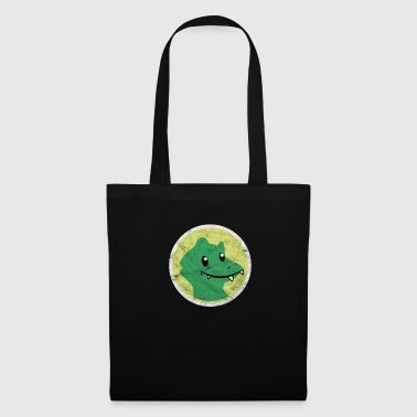 Crocodile cadeau enfant fils fille cartoon zoo animal - Tote Bag