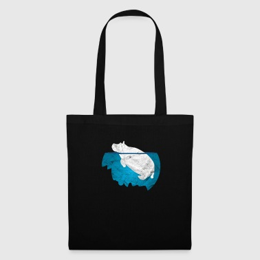 Hippopotamus Safari Africa Zoo Gift Party Child - Bolsa de tela