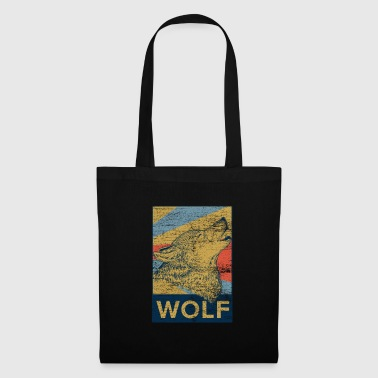 Wolf shepherd dog werewolf dog pack gift - Tote Bag