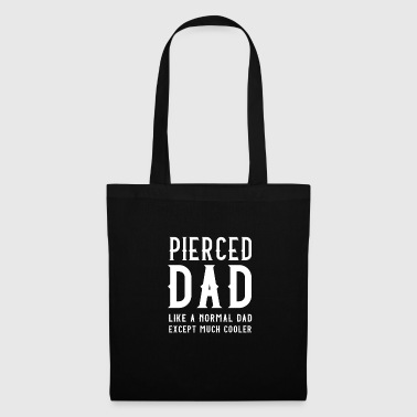 PIERCED DAD FATHER PIERCING CADEAUSJUWELEN COOL - Tas van stof