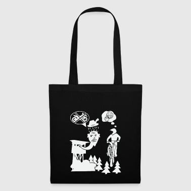 Biker contre Hunter - Tote Bag