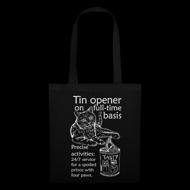 Can opener - english (white) - Tote Bag