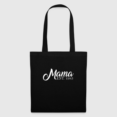Mama established 1983 - Tote Bag