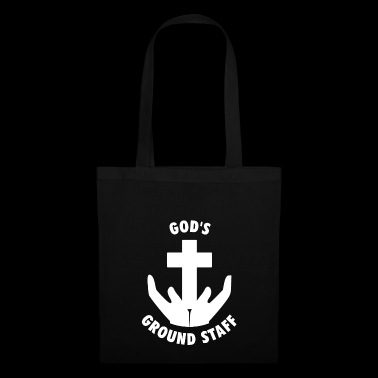 God's Ground Staff - prêtre aumônier pasteur - Tote Bag