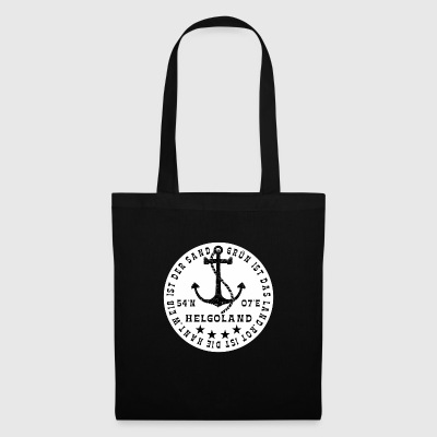 HelgolandLogo_Anker_white - Tote Bag