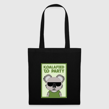 Koalafied To Party Funny Koala Bear Pun Gift - Tote Bag