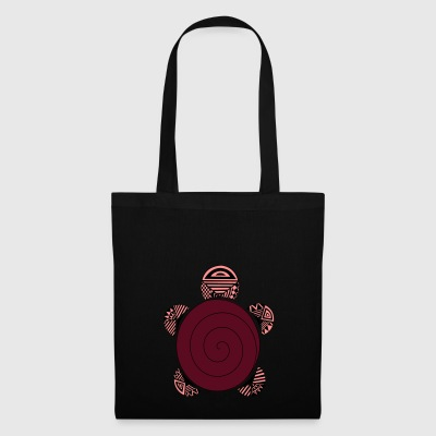 tortue rouge - Tote Bag