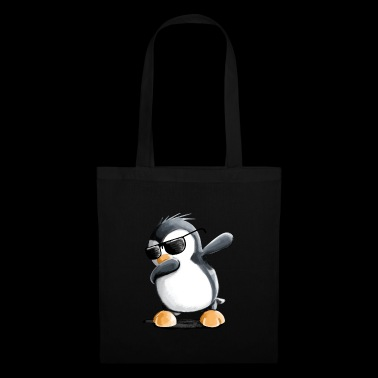 Dabbing Penguin - Dab Dance - Cool - Comic - Fun - Borsa di stoffa