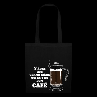 A good morning coffee - White version - Tote Bag