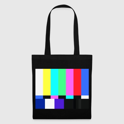 Test Card.Test Pattern. Retro Television Crew.SALE - Tote Bag