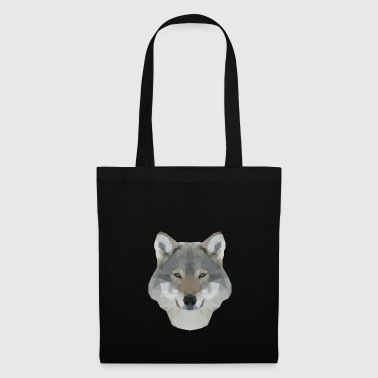 Polygon Wolf RGB - Tote Bag