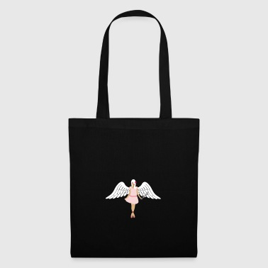 Sexy angel with machete - Tote Bag