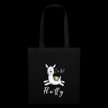 I'm not fluffy Lama - I'm not fluffy - Tote Bag