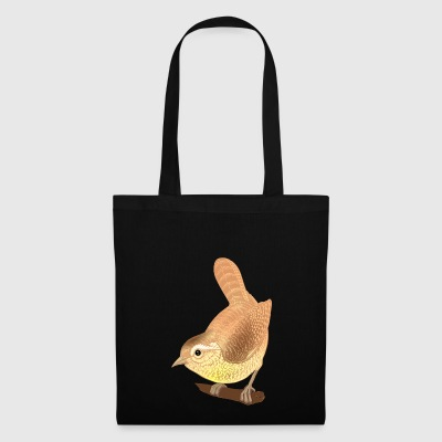 sparrow bird gold - Tote Bag