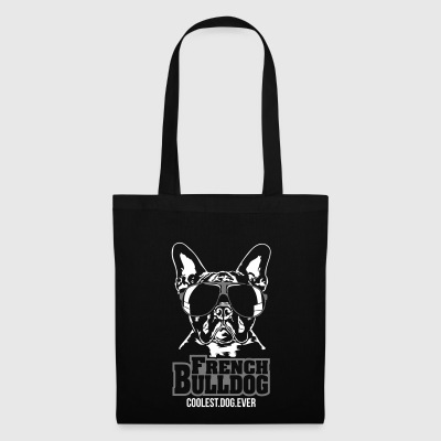 FRENCH BULLDOG coolest dog - Tote Bag