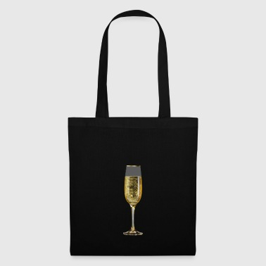 Champagne sparkling glass - Tote Bag