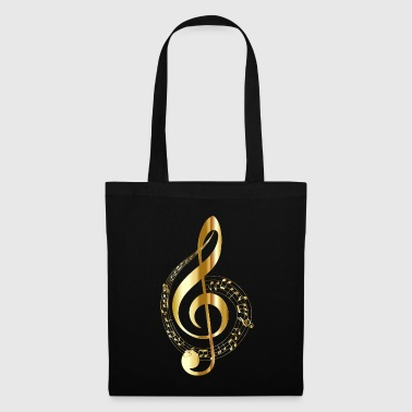 musical note - Tote Bag