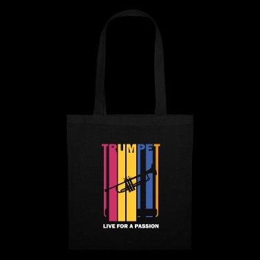 live for a passion trumpet - Tote Bag