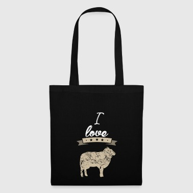 J'adore Sheep I love cadeau - Tote Bag