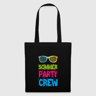 Camiseta Summer Party Crew Club Holiday Fun 2018 - Bolsa de tela