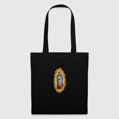 Madonna holy church god believe pray mosaic - Tote Bag