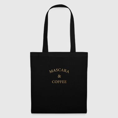 Mascara and coffee beautician cosmetics gift - Tote Bag