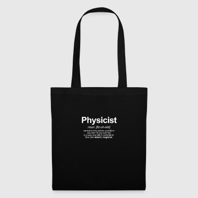 physicien - Tote Bag
