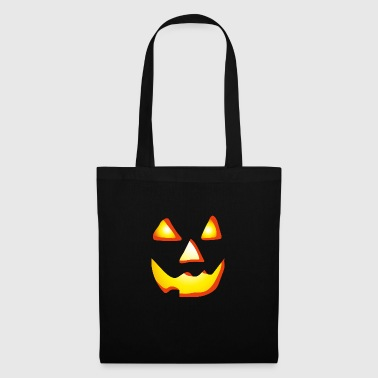 Halloween citrouille - Cheshire moue - Tote Bag